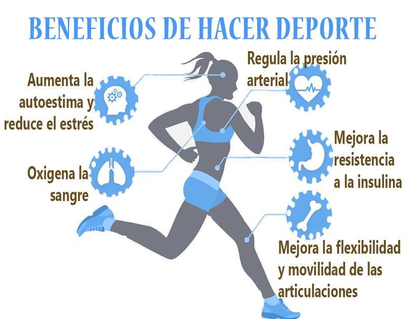 los beneficios del deporte