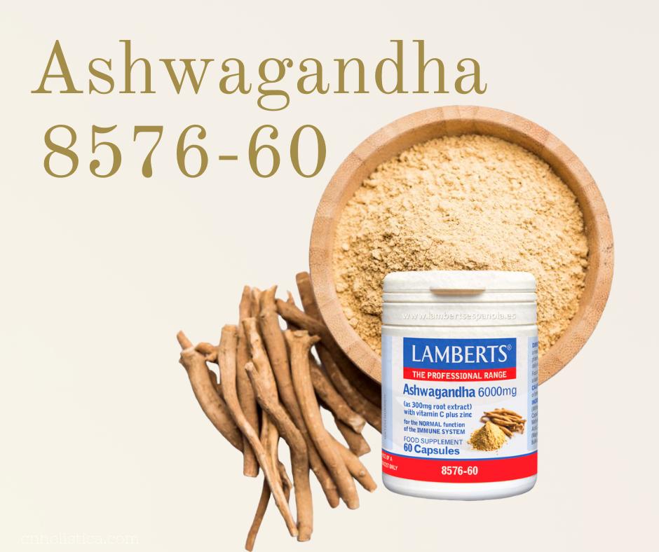 Ashwaganda lamberts ansiedad estrés cnholistica